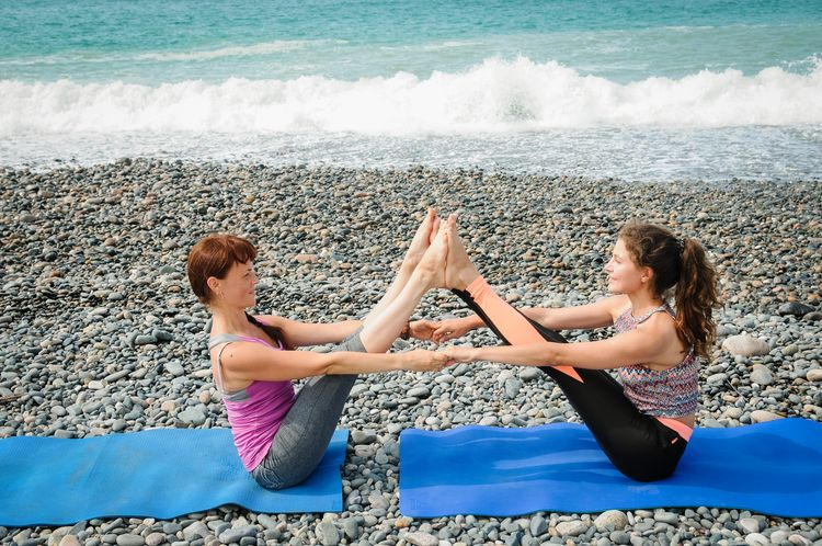 Занятия по йоге алматы